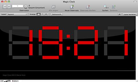FileMaker Demo: Magic Clock