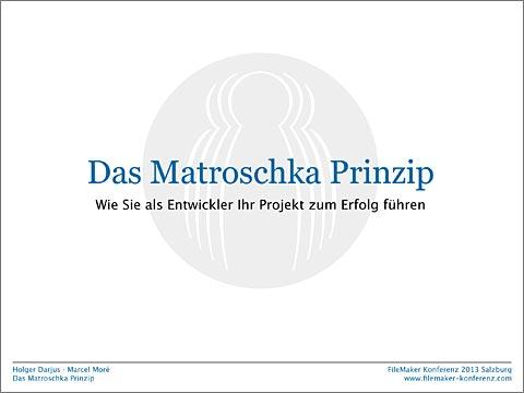 Das Matroschka Prinzip
