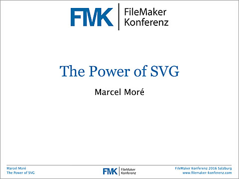 FMK2016 The Power of SVG